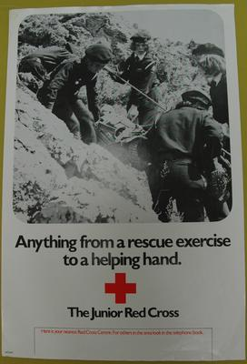 Recruitment poster for The Junior Red Cross