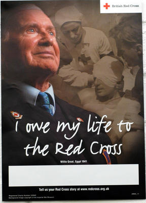 poster produced as part of the 2004 Red Cross Week campaign