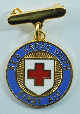 Red Cross Youth proficiency badge in First Aid
