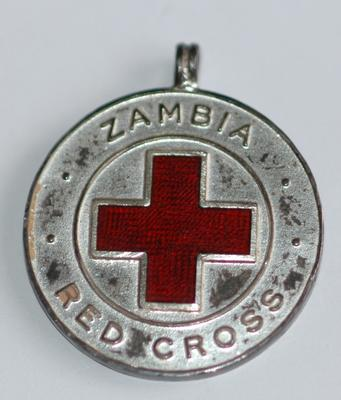 Zambia Red Cross Mining First Aid medallion