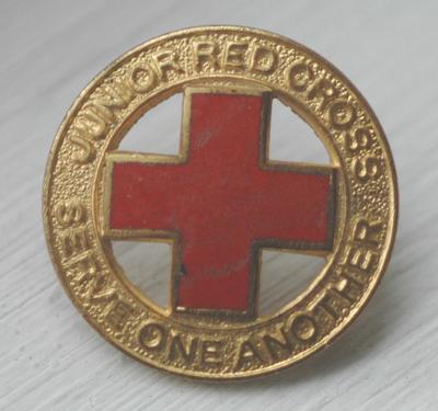 Junior Red Cross badge