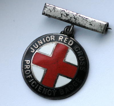 Junior Red Cross Proficiency badge