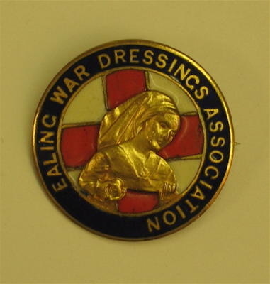 Ealing War Dressings Association badge