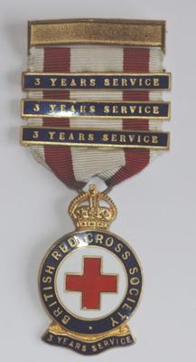 3 Year Service badge with 3 bars