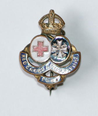 badge: Red Cross Agricultural Fund
