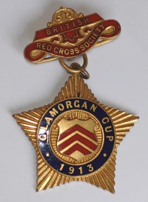 pendant: 'Glamorgan Cup 1913'
