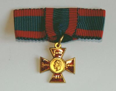 Miniature Royal Red Cross medal
