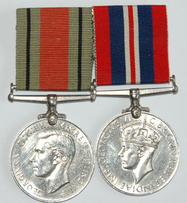Defence Medal and War Medal