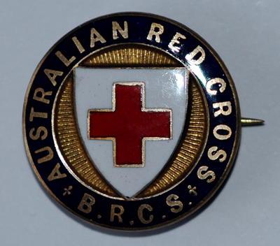 Australian B.R.C.S. badge
