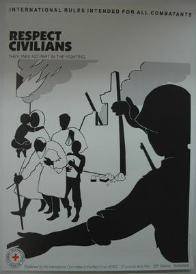 poster: International Rules Intended for all Combatants
