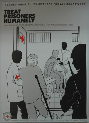 International Committee of the Red Cross poster