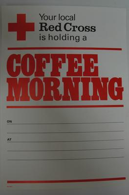 poster advertising a Coffee Morning