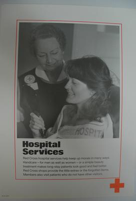 poster advertising Hospital Services