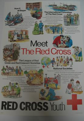 Illustrated history of the British Red Cross, designed for use by Red Cross Youth