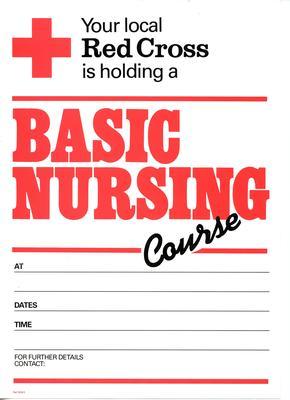 poster advertising a Basic Nursing Course