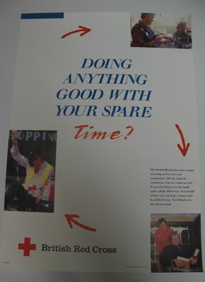 recruitment poster: Doing Anything Good With Your Spare Time?