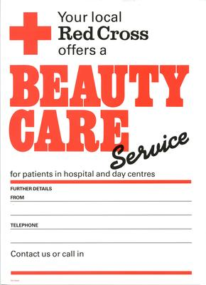 poster advertising Beauty Care Service