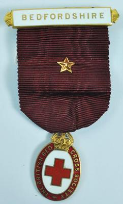 Branch President's badge, worn when in civilian dress.