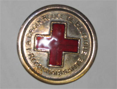 Belgium Red Cross medallion