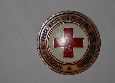 Roumania Red Cross 1876-1976 medallion
