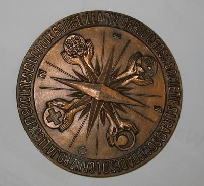 League Of Red Cross Societies 1919-1969 medallion