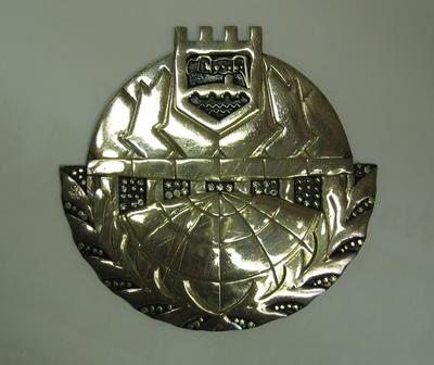 Skopje plaque