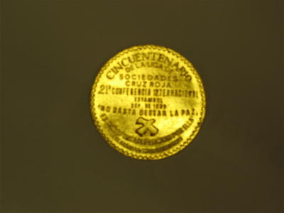 Spanish Red Cross 1969 medallion