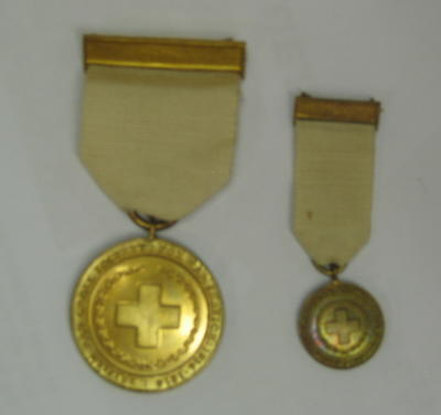 British Red Cross Society War Medal miniature