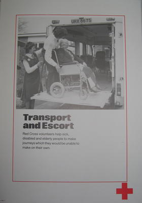 One of a set of ten posters: Transport and Escort