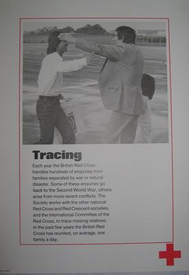 One of a set of ten posters: Tracing; Printed Docs (museum)/poster; 2343/10(8)
