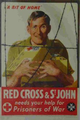Red Cross & St John fundraising poster; Posters/poster; 2355/143