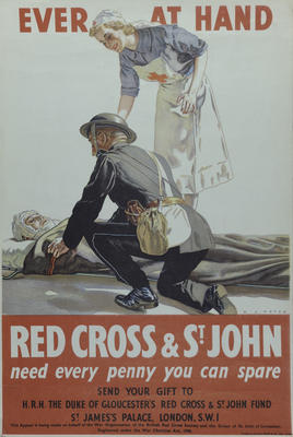 The Duke of Gloucester's Red Cross & St John Fund poster