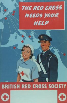 Small tinted recruitment poster