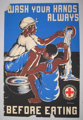 poster: 'Wash Your Hands Always Before Eating'