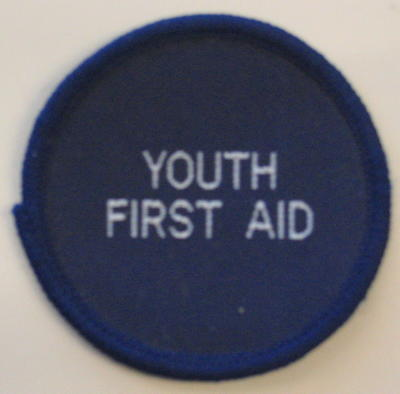 qualification badge: Youth First Aid