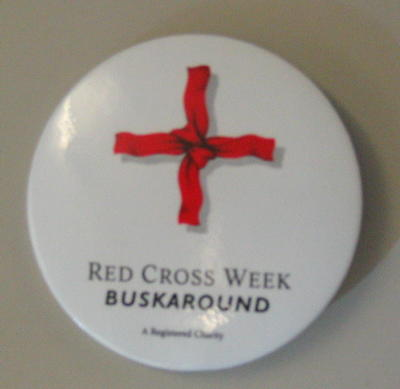 Red Cross Week Buskaround badge
