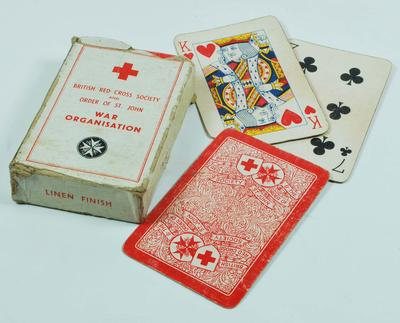 Joint War Organisation playing cards