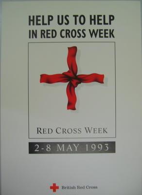 poster advertising Red Cross Week 1993