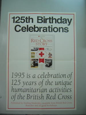 poster advertising The Red Cross Story