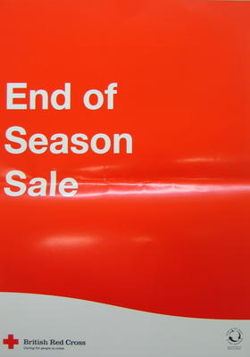 poster: 'End of Season Sale'.