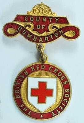 County of Dumbarton badge