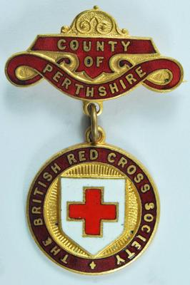 County of Perthshire badge