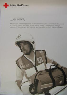 poster advertising emergency response