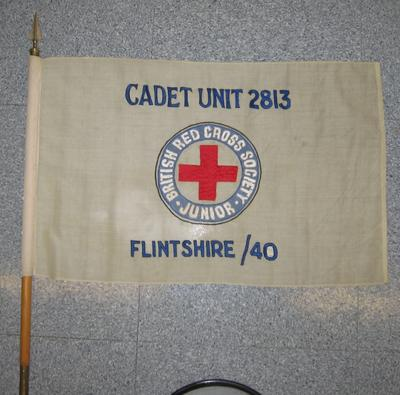 flag used by Cadet Unit 2813, Flintshire/40