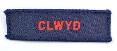 Cloth badge: Clwyd