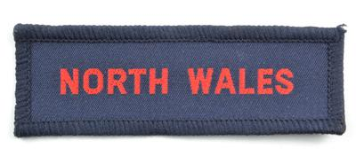 Cloth badge: North Wales