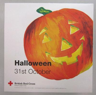 Poster to be used in British Red Cross shops.