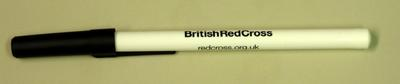 pen advertising the British Red Cross