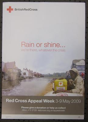 Red Cross Appeal Week poster, 2009; Printed Docs (museum)/poster; 2815/1