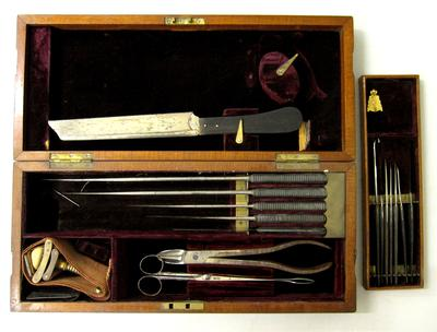 set of Amputation Instruments by Weiss